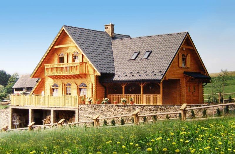 Проекты двухэтажных домов с террасой