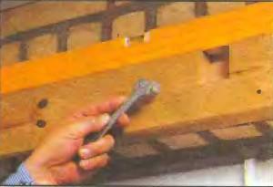 крепление доски на шурупы глухари
