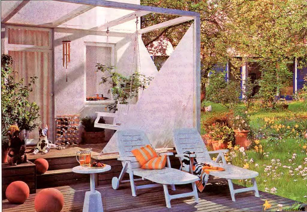 Преображаем террасу в летнюю гостиную