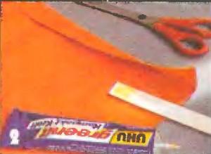 Подворачиваем ткань для люверсов