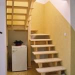 лестница в жилую зону