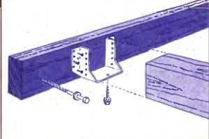 Соединение балок
