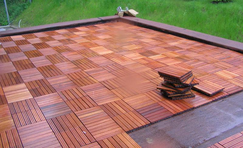 Декинг для террасы — современный материал для отделки