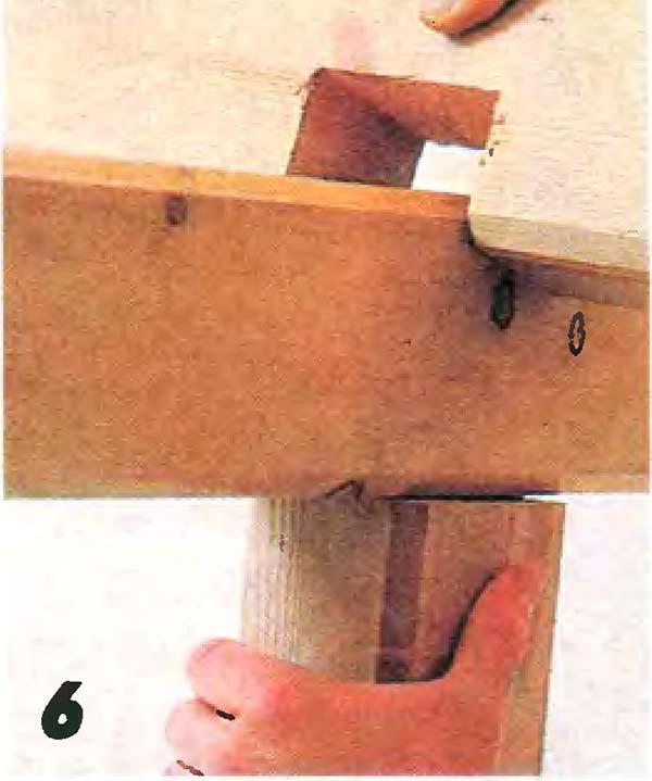 Элемент каркаса перголы