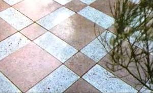 Плитка- шахматная доска