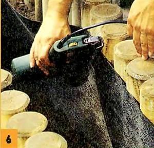 Предотвращаем вымывание грунта