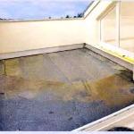 Битумная гидроизоляция на террасе