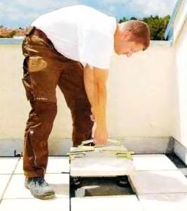 легкая замена плитки