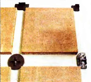 подпятники для квадратных плит