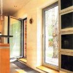 широкая дверь на террасу