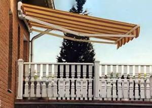 балконная открытая маркиза