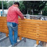 деревянные панели для пола террасы