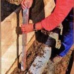 Трамбовка бетона