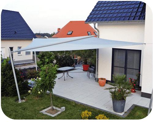 треугольная терраса