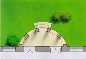 терраса расположена под балконом