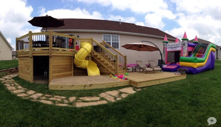 фото террас пристроенных к дому