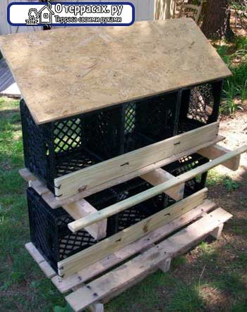 пластиковая коробка гнездо