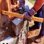 закругление каменного ограждения