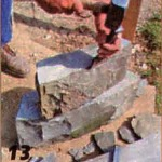 подгоняем размер камня