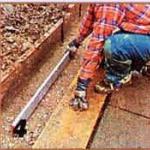 проверяем ровность бетона