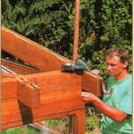 установка водосточного желоба